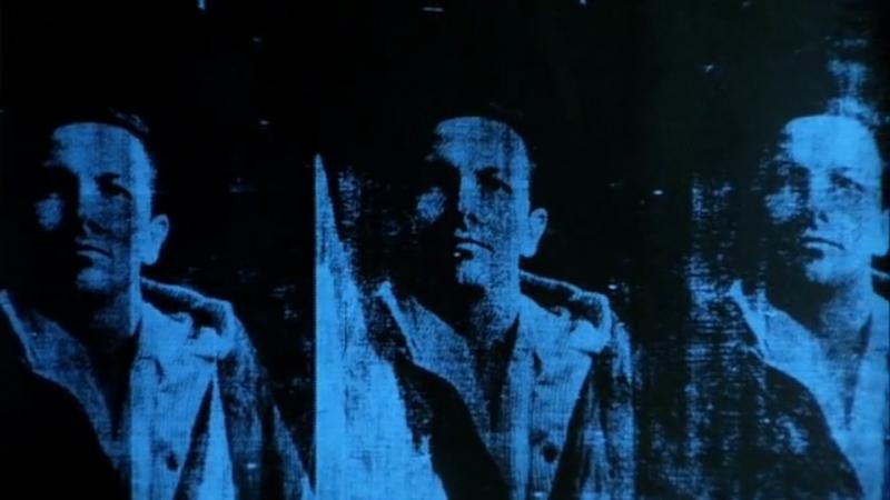 El texano. Rauschenberg por Warhol