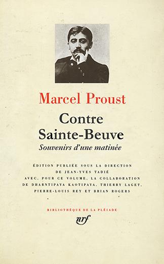 Contra Sainte-Beuve