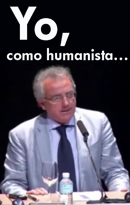 Sanz como humanista… Sir Norman como subversivo