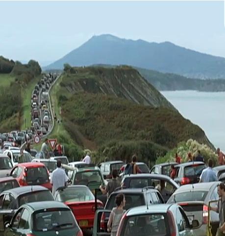 La carretera de la costa, imposible