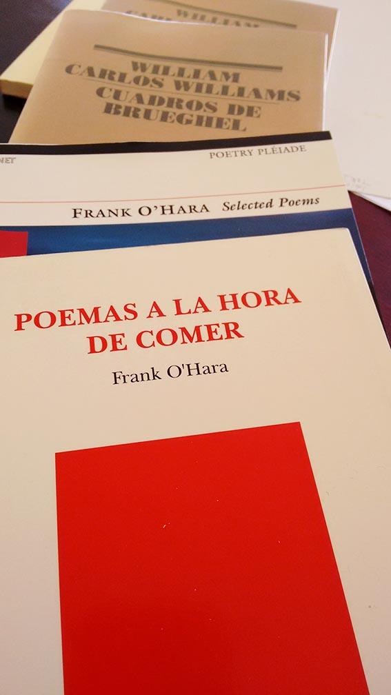 Frank O'Hara. ¡Ajá!