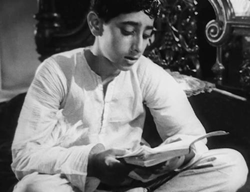 Blanco y negro Satyajit Ray