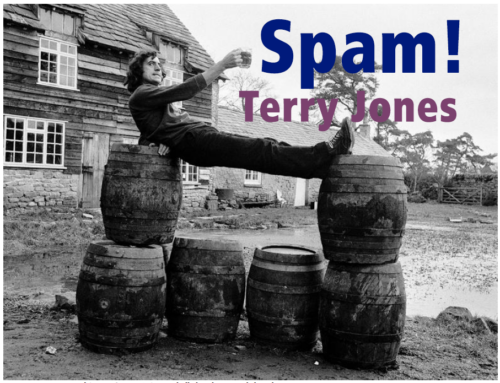 "Terry Jones: ""I love Spam"""