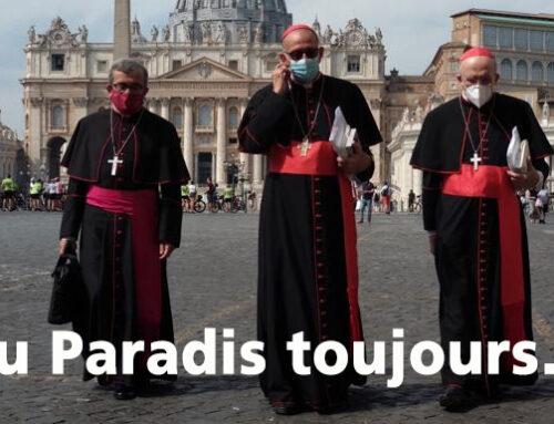 Moda en el Vaticano (Au Paradis toujours plus vite !)
